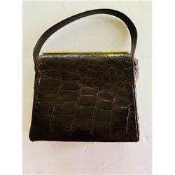 Vintage 1950 Alligator Handbag