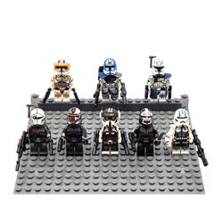 Star War Minifigs Lot of 8 Pre Assembled