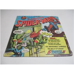 Vintage Spiderman 1974 Children Record