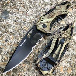 Camo Folding Pocket Knife