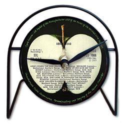 Beatle Memorabilia Apple Label Desk Clock
