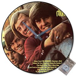 The Monkee Album Cover Vintage Wall Clock