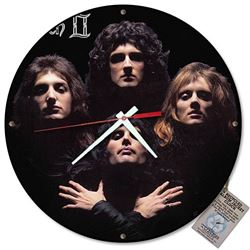 Queen 2 Album Cover Wall Clock