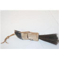 Deer Foot/ Horse Hair Scalp Lock 001