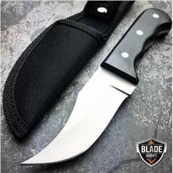 6.25 Full Tang wood Skinner Hunting Knife With Protective Sheath