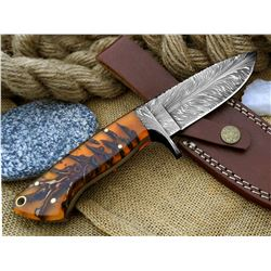 Do You Need A Custom Made Knife and Leather Sheath For Your Hunting Adventure