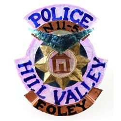 BACK TO THE FUTURE PART II (1989) - Officer Foley's (Stephanie E. Williams) Hill Valley 2015 Police