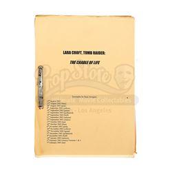 LARA CROFT TOMB RAIDER: THE CRADLE OF LIFE (2003) - Revised Production-Used Script