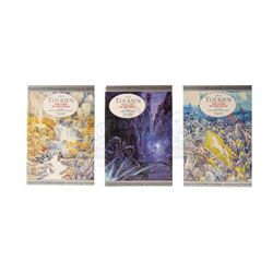 LORD OF THE RINGS, THE (2001-2003) - Alan Lee Hand-Illustrated and Autographed Books