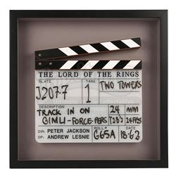 LORD OF THE RINGS: THE TWO TOWERS, THE (2002) - Production-Used Clapperboard