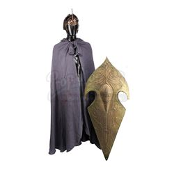 LORD OF THE RINGS, THE (2001-2003) - Elven Warrior Cloak, Helmet and Shield