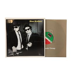 BLUES BROTHERS, THE (1980) - Sir Christopher Lee Estate Collection: Autographed Album Dedicated to C