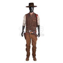 MAGNIFICENT SEVEN, THE (2016) - Josh Faraday's (Chris Pratt) Costume, Pistol and Rig