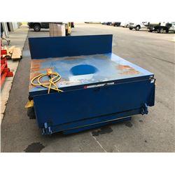 1000 LB Vestil EHLTT Lift & Tilt Scissor Table M/N: EHLTT-H-6450-1-47