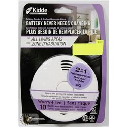 NEW KIDDE TALKING SMOKE & CARBON MONOXIDE ALARM