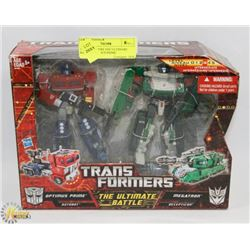 TRANSFORMERS THE ULTIMATE BATTLE OPTIMUS PRIME