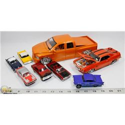 FLAT OF ASSORTED COLLECTOR CARS.