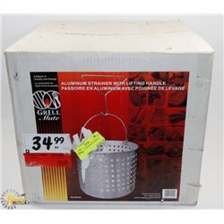 GRILLMATE STRAINER & HANDLE