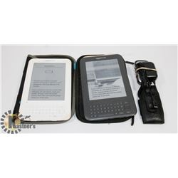 2 KINDLE READERS & CELL PHONE - NEED BATTERIES