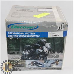 12 VOLT MOTORCYCLE/QUAD BATTERY