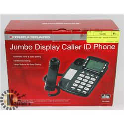 JUMBO DISPLAY CALLER ID PHONE