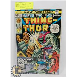 VINTAGE MARVEL 2 IN 1 THE THING, THE MIGHTY THOR