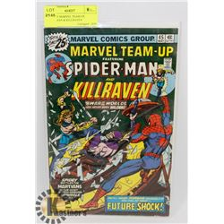 VINTAGE MARVEL TEAM UP, SPIDERMAN & KILLRAVEN