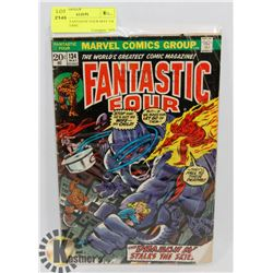VINTAGE FANTASTIC FOUR MAY 134 20 CENT COMIC