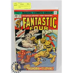 VINTAGE FANTASTIC FOUR OCT 151 25 CENT COMIC