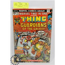 VINTAGE MARVEL 2 IN 1 THE THING AND THE GUARDIANS