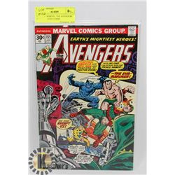 VINTAGE MARVEL THE AVENGERS JAN 155 30 CENT COMIC