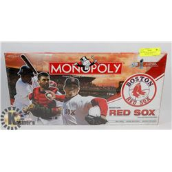 FACTORY SEALED MONOPOLY BOSTON RED SOX WITH