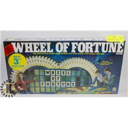 FACTORY SEALED 1985 THIRD EDITION WHEEL OF FORTUNE