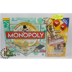 FACTORY SEALED MONOPOLY CHAMPIONSHIP EDITION.