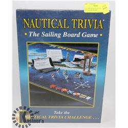 FACTORY SEALED NAUTICAL TRIVIA THE SAILING BOARD
