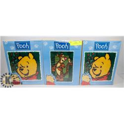 POOH LATCH HOOK KITS.
