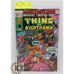 VINTAGE MARVEL 2 IN 1 THE THING & NIGHTHAWK