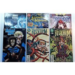 15) LOT OF 6 DC COMICS