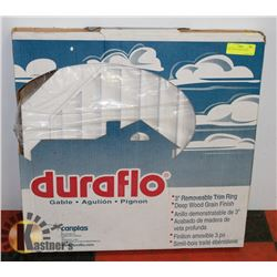 NEW DURAFLO WHITE GABLE