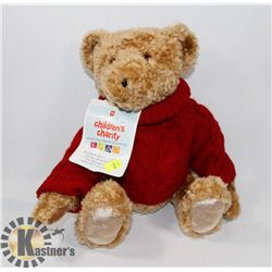 NEW PRESIDENTS CHOICE CHARITY STUFFED BEAR