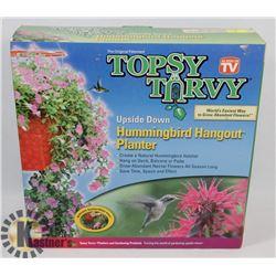 NEW TOPSY TURVY HUMMINGBIRD FEEDER