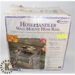 NEW SUNCAST HOSE HANDLER WALL MOUNT HOSE REEL