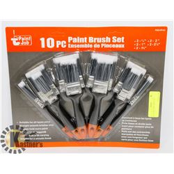 NEW! 10PC PAINT BRUSH SET