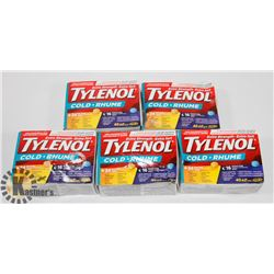 BAG OF TYLENOL COLD MEDICINE