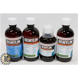 BAG OF ASSORTED BENYLIN COLD MEDICINE