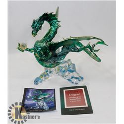 FRANKLIN MINT DRAGON GUARDIAN OF THE RAGING WATER