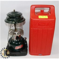 COLEMAN FUEL LANTERN AND CASE