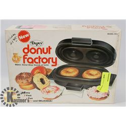 VINTAGE DONUT FACTORY KITCHEN SMALL APPLIANCE