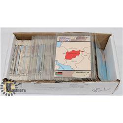 DESERT STORM PRO SET 1991 TRADING CARDS.