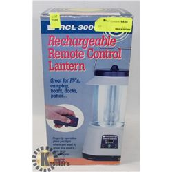 RECHARGEABLE REMOTE CONTROL LANTERN